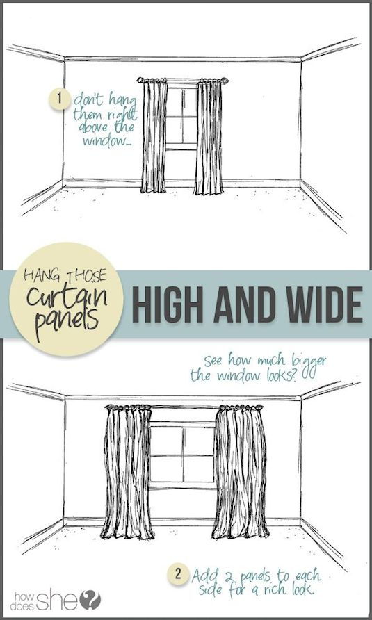 12-hang-your-curtains-to-give-the-illusion-of-larger-windows-27-easy-remodeling-projects-that-will-completely-transform-your-home1
